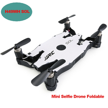 H49WH SOL Selfie Drone Foldable APP Control Mini RC Drones with Camera HD 720P Wifi FPV Quadcopter RC Helicopter Altitude Hold