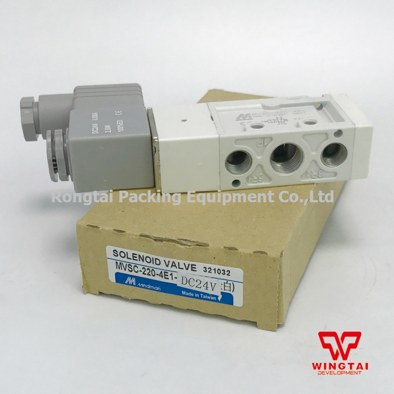 High Quality  Taiwan Mindman Solenoid Valve MVSC-220-4E1 DV24C For Industry new mindman solenoid valve mvsd 180 4e1 mvsd1804e1 coil ac220v