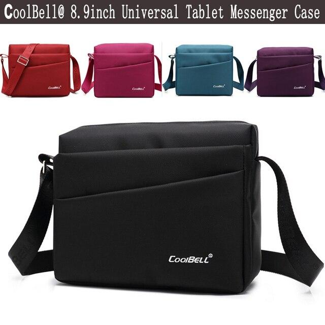 Universal 8 8.9 9 polegada Tablet Tampa Manga Bolsa Pequena Crossbody sling saco para ipad mini 4 3 caso laptop ombro mensageiro saco