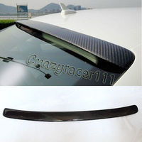 A4 B8 Carbon Fiber Rear Roof Spoiler Wing Lip for Audi 09 12 A Style
