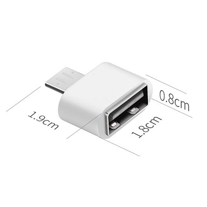 2pcs/lot New Style Mini OTG Cable USB OTG Adapter Micro USB To USB Converter For Tablet PC Android