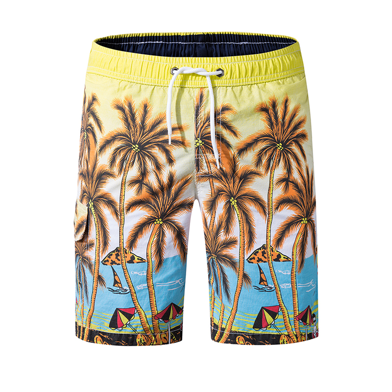 Men's Quick Dry Boardshorts with Pocket Breathable Board Shorts Beach Short for Surfing Water Sport Swimming Pool Party Shorts