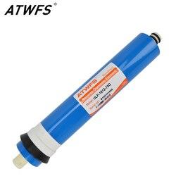 Atwfs высокомощный качественный 75gpd RO мембранная Система обратного осмоса фильтр для воды общий мембранный ULP-1812-75G