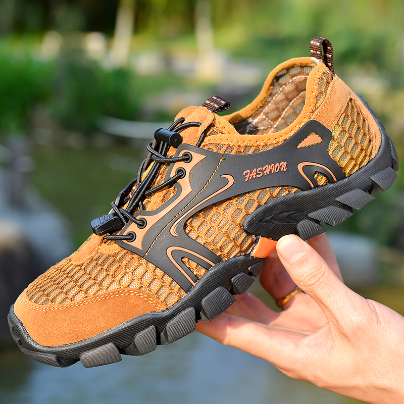 Outdoor Hiking Shoes Sneakers Men Camping Climbing Trekking Shoes Athletic Sneakers
