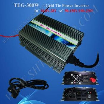 300W Grid Tie Solar Inverter DC 10.8-28V to AC 220V/230V/240V Solar Inverter witblue new for 10 1 qumo sirius 1002w tablet capacitive touch screen panel digitizer glass sensor replacement free shipping