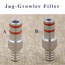 Jug-Growler Filler 304 Stainless Beer Homebrew Bottle Filler Homebrew Draft Beer Keg Dispense Free Shipping(China)