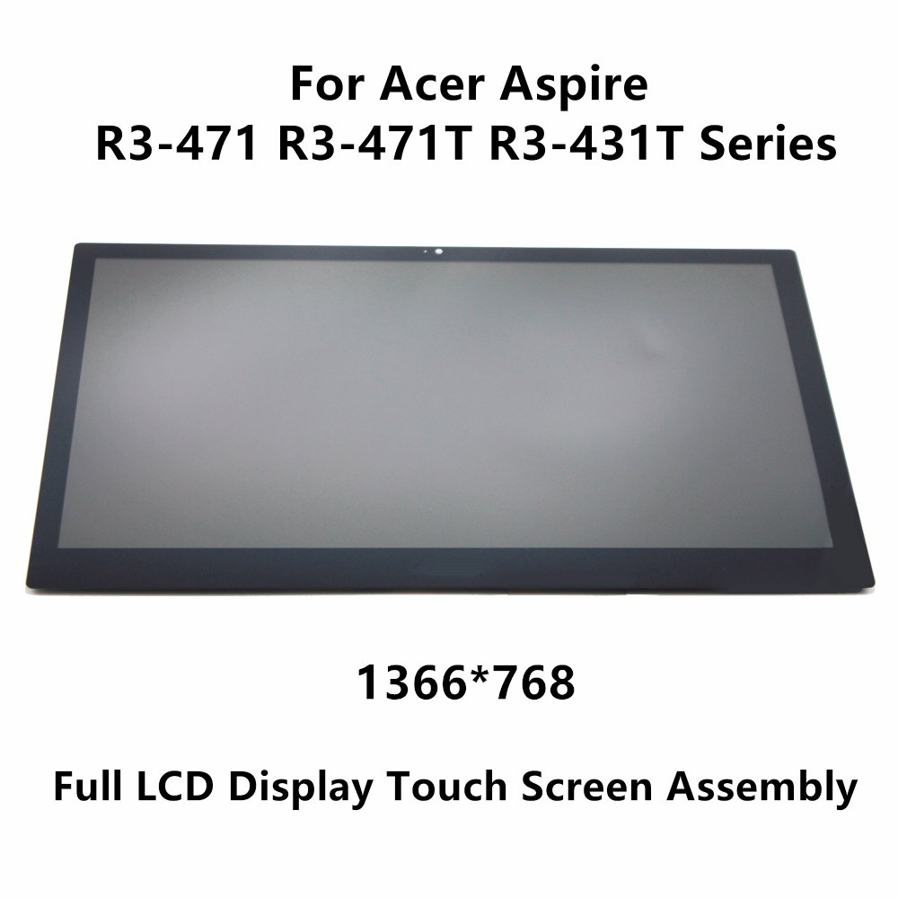 14 LCD Display Touch Panel Assembly Screen+Digitizer For Acer Aspire R3-471 R3-471T R3-431T R5-471T series 1920x1080 1366x768