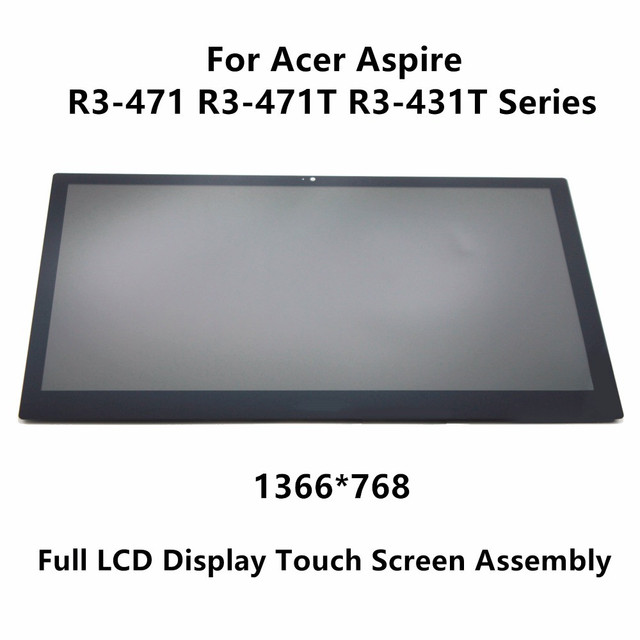 "14"" LCD Display Touch Panel Assembly Screen+Digitizer For Acer Aspire R3-471 R3-471T R3-431T R5-471T series 1920x1080 1366x768"