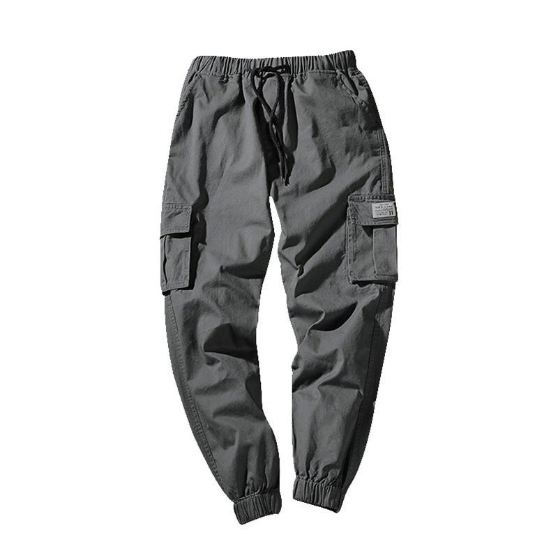 7XL Cargo Pants Men Quality Cotton Pencil Pants Male Washed Slim Fit Pants Mens Trousers Korean Brand MuLS Plus Size Casual Pant 04