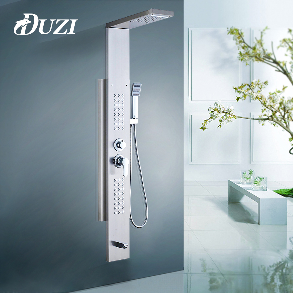 Hot Sale DUZI Bathroom Shower Panel Wall Mounted Massage System ...