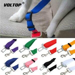 Image 1 - 1 pcs חיות מחמד רכב חגורת בטיחות אביזרי רכב חגורת בטיחות עופרת קליפ לחיות מחמד חתול כלב בטיחות חגורת בטיחות כרית כתף מנעול
