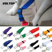 1 piezas del cinturón de seguridad del coche accesorios de coche cinturón de plomo Clip gato mascota perro cinturón de seguridad del hombro candado