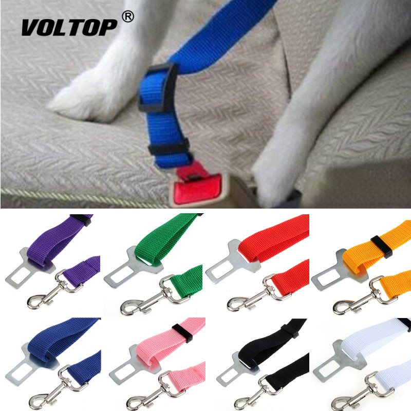 1pcs Pet Car Seat Belt Car Accessories Seatbelt Lead Clip Pet Cat Dog Safety Seat Belt Shoulder Pad Lock-in Seat Belts & Padding from Automobiles & Motorcycles