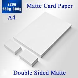 220g 250g ضعف الجانب ورق صور غير لامع لبطاقة الأعمال/بطاقة الاسم/بطاقة بريدية