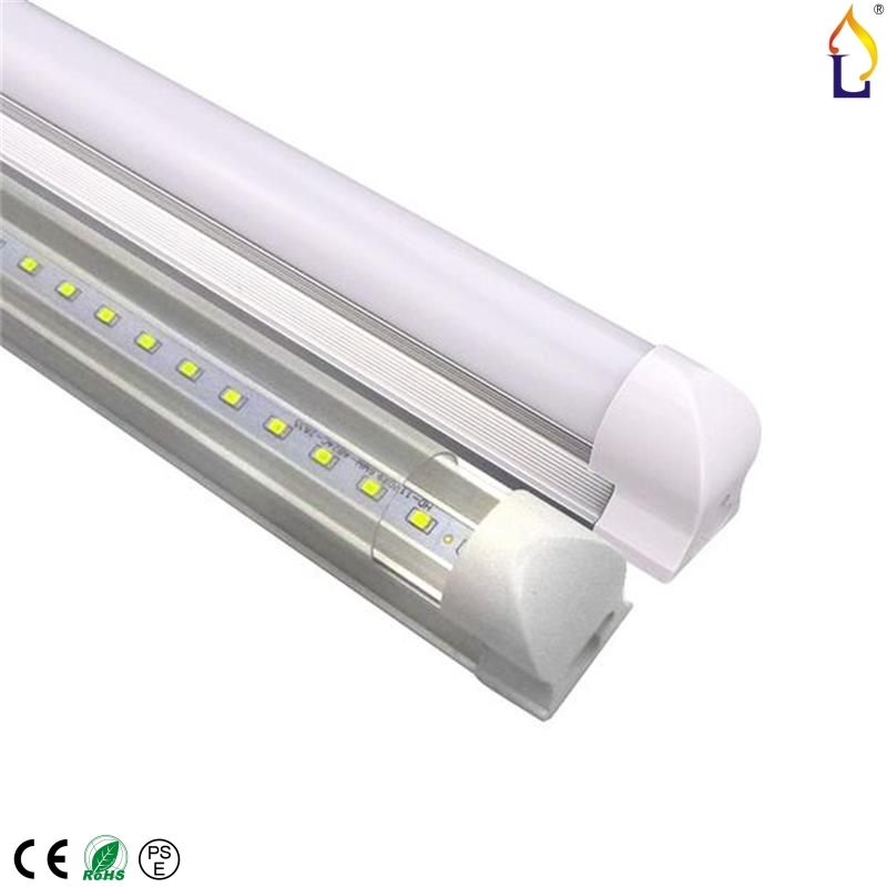 50pcs/lot LED T8 Integrated tube 10w 15w 20w 24w 30w 40w LED Bulb LED Lamp 2835 with accessory completed set easy install t8 integrated led tube 5ft 1500mm 24w with accessory completed set easy install milky cover clear cover available high quality