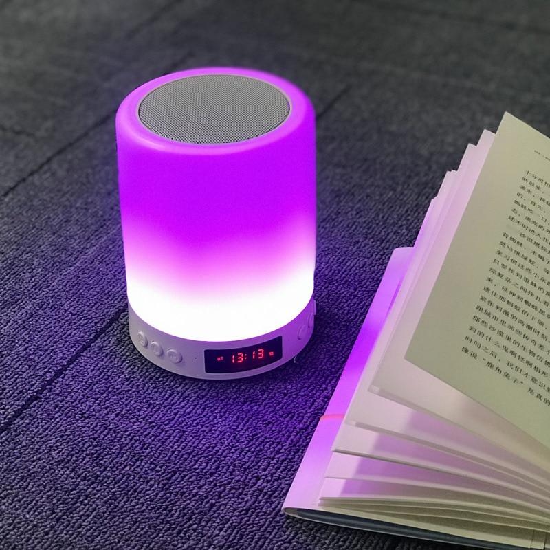Aliexpress Com Buy Wireless Bluetooth Alarm Clock