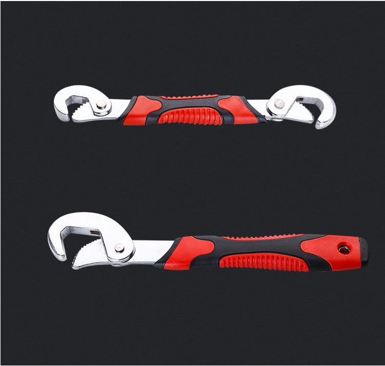 Portable Multi-function 2 Piece Set Universal Wrench Adjustable Grip Set 7-32mm Ratchet Wrench Wrench Fire Wrench Manual Tool