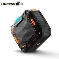 BlitzWolf BW F2 IP65 Water Resistant Outdoor Hand Free 2000mAh Wireless Bluetooth Speaker