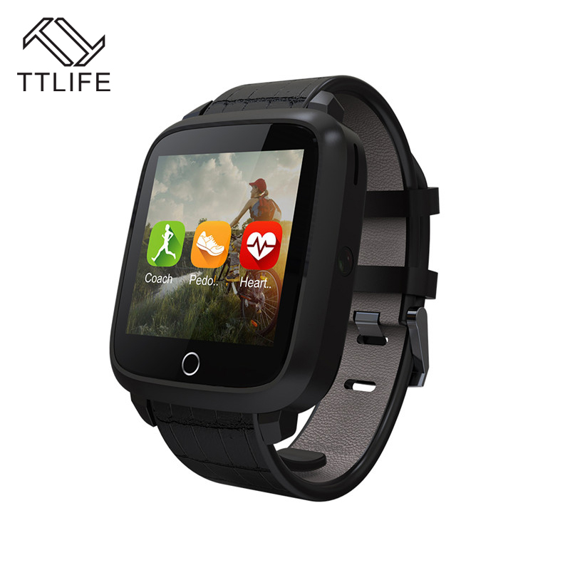 TTLIFE U11S Bluetooth Smart Watch Heart Rate Monitor GPS Health Wrist Smartwatch for Android Fastion Top Quality smart baby watch q60s детские часы с gps голубые