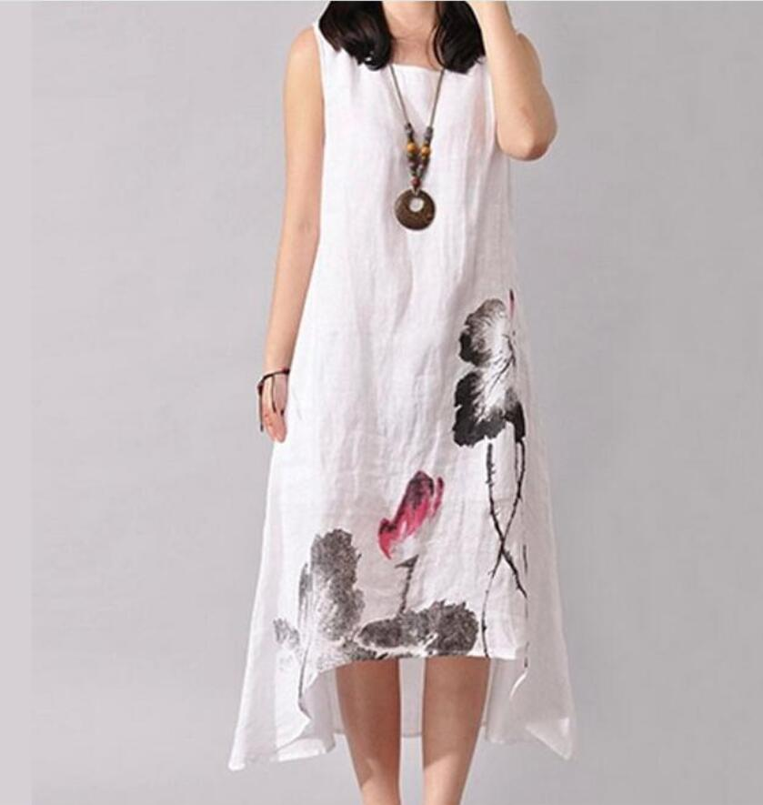 ff83658804 Aliexpress.com   Buy 2019 Linen Vintage Long Maternity Dresses Clothes For  Pregnant Women Clothing Chinese Style Print Plus Size Pregnancy Dress from  ...