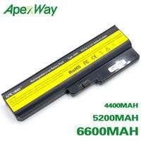 Bateria Para Lenovo 3000 B460 ApexWay B550 G430 G430A G430L G430M G450 G450 G450A G450M G455 G530 G530A G530M G550 G555 N500|4400mah battery|battery for lenovo g550|lenovo b460 battery -