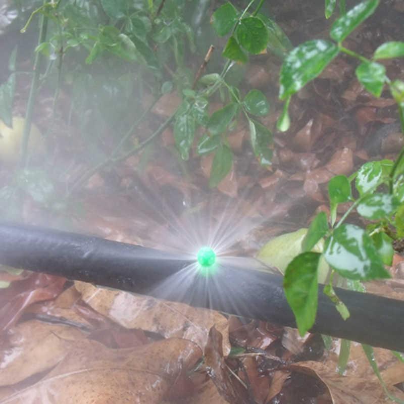 10pcs lotto 360 Gradi spruzzatore Giardino Agricoltura di Irrigazione A Spruzzo spruzzatore di prato di Nebbia Ugello sprinkler Sistema di Irrigazione