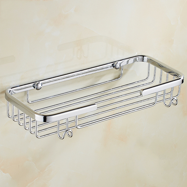 Stainless Steel Kitchen Storage Rack Wall Mount Hook Shelf Dish Hanger  Storage Shelf Bathroom Organizer Holder