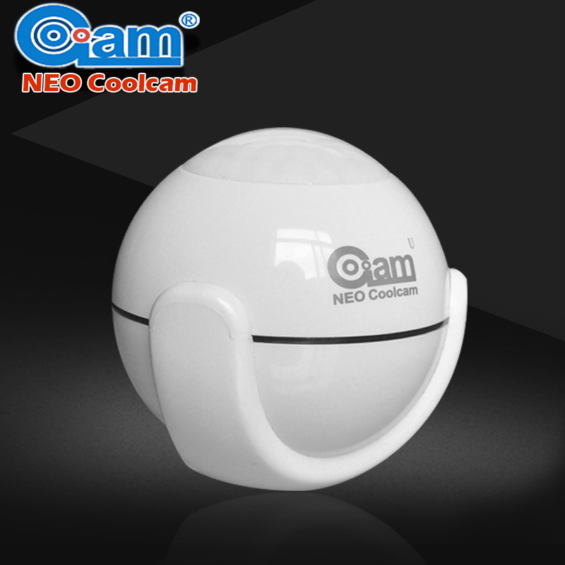 NEO COOLCAM Z-wave Wireless PIR Motion Sensor Compatible With Z wave System 300 Series And 500 Series Home Automation System neo coolcam nas pd02z new z wave pir motion sensor detector home automation alarm system motion alarm system eu us version