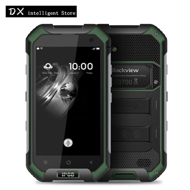 Blackview BV6000S 4G Mobile Téléphone MTK6737T Quad Core IP68 Étanche antichoc 4.7 Pouce HD 2 GB + 16 GB 13MP Android 6.0 SmartPhone