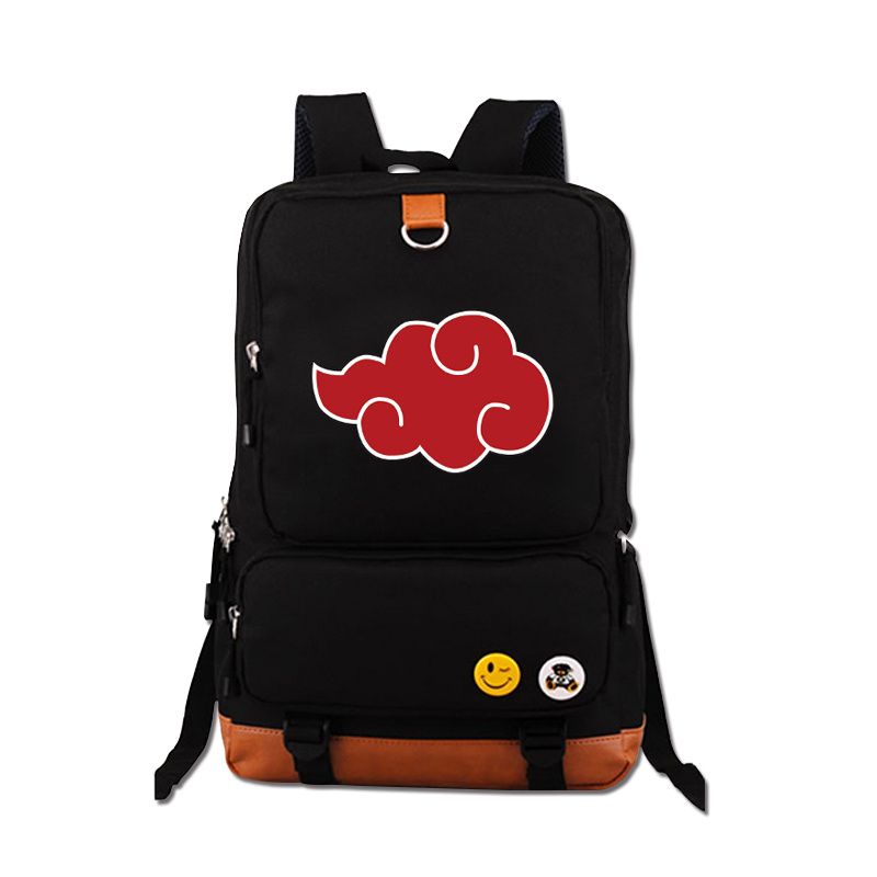 все цены на High Quality Anime Naruto Uzumaki Printing Canvas Mochila Feminina Travel Military Bag School Bags for Teenagers Laptop Backpack