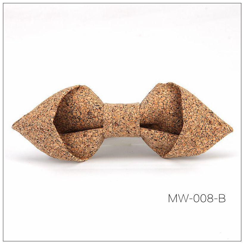 New Handmade Wooden Cork Bamboo Bow Tie Bowtie Men's Cravat 84