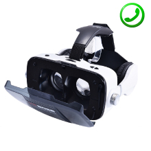 Z5 3D VR BOSS Headset BOX Virtual Reality Google Cardboard Glasses Case Headphone Speaker For 4.0-6.3″ iOS Android PK Bobovr Z4