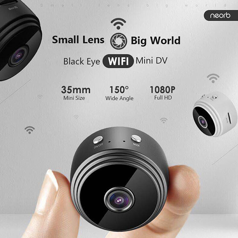 Mini Wifi Camera Full HD 1080 P Resulotion Anti theft Camcorder Household Night Vision Detection Cam