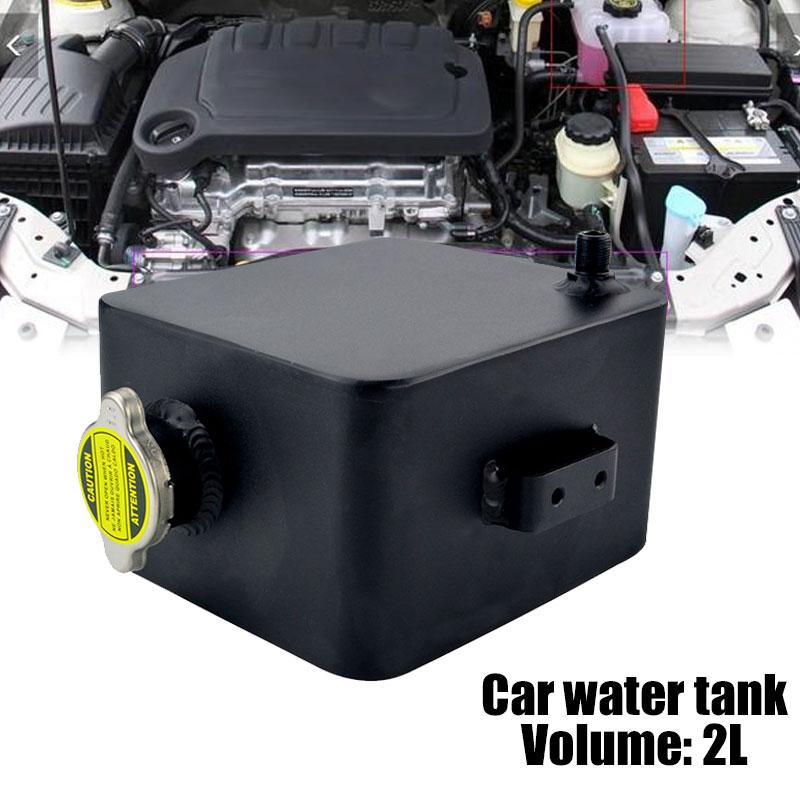 Автомобильный резервуар для воды с крышкой Универсальный Авто водяной бак вспомогательный бак резервуар для воды экологичный автомобиль