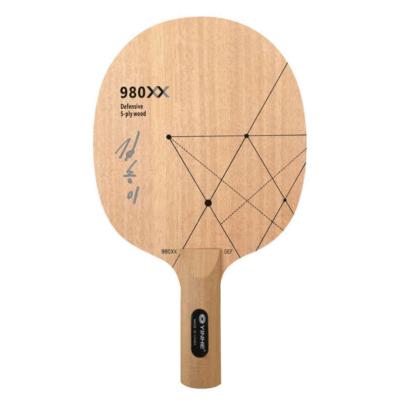 YINHE 980XX (Kim Song I Special, DPR Korea Team) 980 PRO (DEF, Chop Attack) Table Tennis Blade Chop Racket Ping Pong Bat Paddle