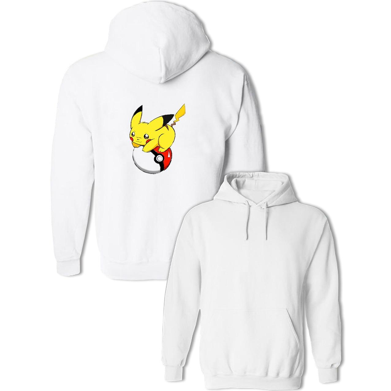 Idzn Harajuku Womens Hoodies Death Star Pokeball Star Wars Pokemon Poke Ball Casual Autumn Girl Printed Sweatshirts Tops S-3xl Women's Clothing