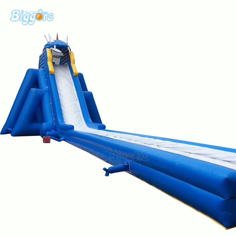 YARD Commercial Durable Trampoline Inflatable Large Beach Water Slide For Amusement