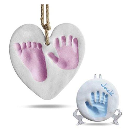 100g Kid Baby Air Drying Clay Handprint Footprint Imprint Kit Casting Mould Diy Keepsake