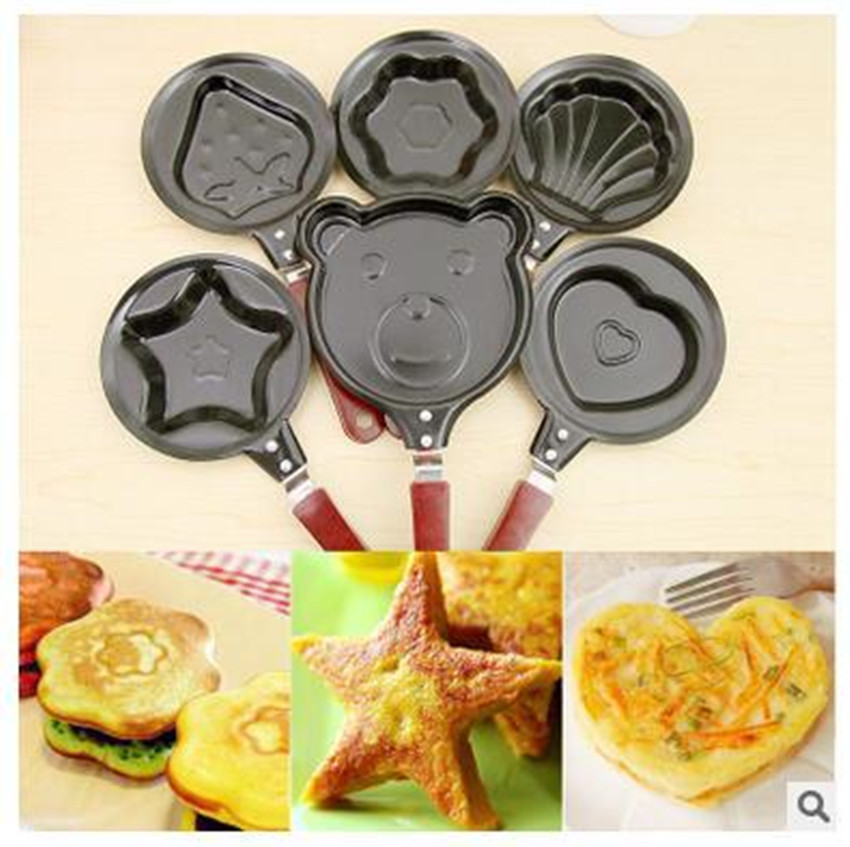 Home kitchen Hello Kitty Breakfast Omelette Pans Pancake Egg Fryer Skillet Mini Frying Pan Cookware Non