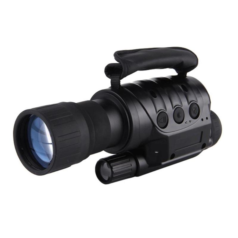 Outdoor Digital Infrared Night Vision High Magnification Monocular Telescope for Picture Video Shooting nv400b digital infrared ir night vision large screen binoculars telescope camera video recorder for outdoor sightseeing