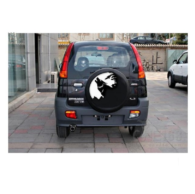 Car wolves wolf totem stickers wolf all cars posted Wolf Road vehicle pull  flowers general cover