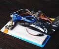 Uno R3 MB-102 830 точек Макет, 65 Гибкие перемычки, USB Кабель и 9 В Батареи Разъем для arduino комплекте