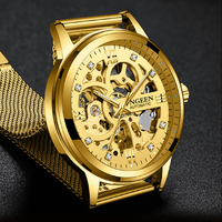 Luxury Men Mechanical Watch Mens Business Watches Top Brand Fashion Waterproof Wrist Watch Male Clock Relogio Masculino 2019