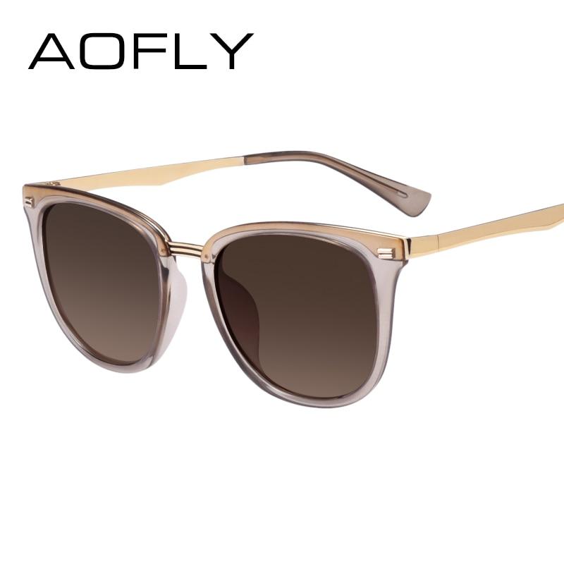Aofly женская мода поляризованный солнцезащитные очки старинные женщин бренд дизайнер оттенки очки аксессуары вождения солнцезащитные очки af7968