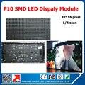 320*160mm 32*16pixels 1/4 scan P10 indoor full color led module 1R1G1B 3in1 led video display led sign panel