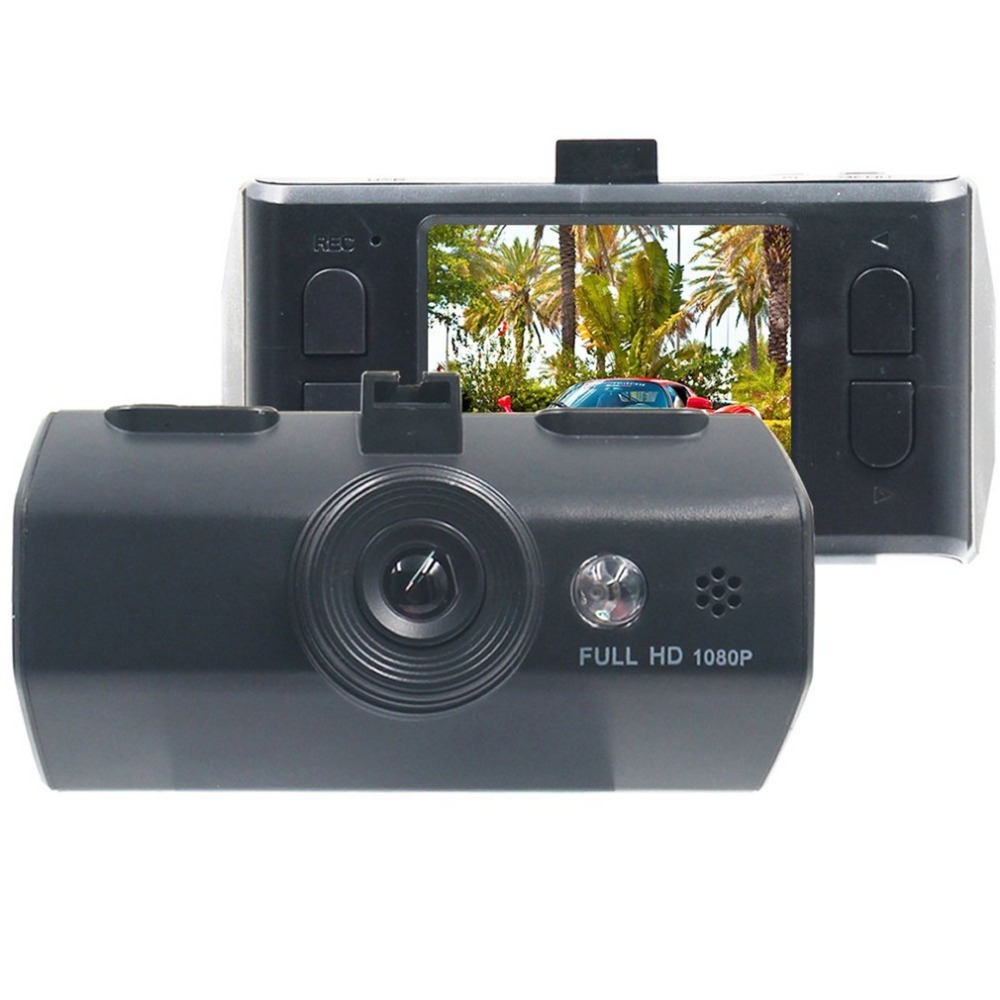 Single Lens 1080P HD Night Vision Car DVR 2.0-Inch Display 120 Degree A+ Wide-angle Lens Carcorder Automobile Data Recorder
