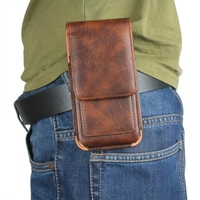 Outdoor Leather Pouch Waist Belt Clip Phone Case Cover Bag For Highscreen Easy L Easy L