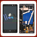 ЖК-Экран С Сенсорным Экраном Дигитайзер Ассамблеи С Рамкой Для Nokia Lumia 930 Черный/Серебристый + Инструменты FreeShipping