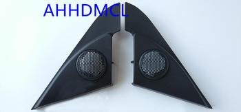 Samochód wysokotonowy montaż skrzynek głośnikowych Audio drzwi kąt Gum dla Mazda 3 2010 2011 2012 2013 2014 tanie i dobre opinie Black AHHDMCL ABS+PC+Metal Car audio door angle gum tweeter refitting 0 28kg