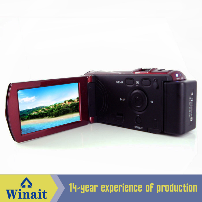 High Definition 1280*720P Video resolution HDV-666 digital video camera with PC-Camera image